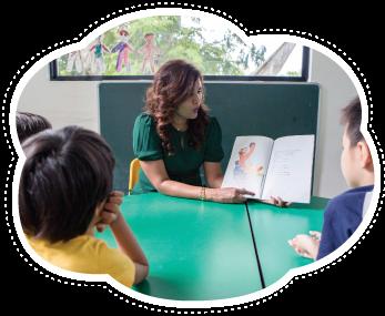 Mighty-Oaks-Learning-Center-teacher-read