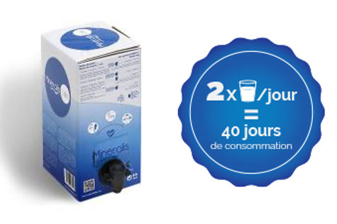 Sérum de QUINTON 2 litres (Cure de 40 Jours)