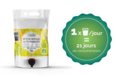 Sève de Bouleau lacto-fermentée 3 L (cure 30 jours)