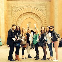 En tournée au Maroc