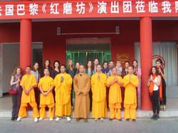 Avec les moines Shaolin en Chine