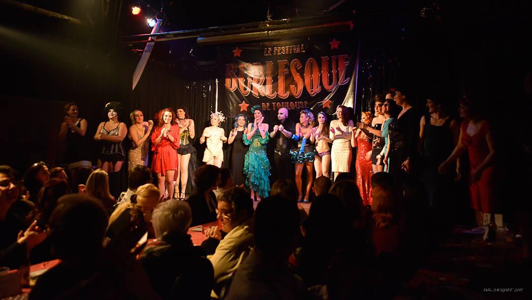 FESTIVAL BURLESQUE DE TOULOUSE 2015