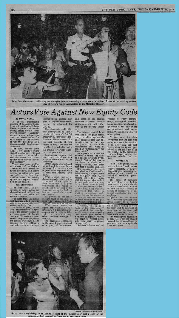 1972 Actor's Equity in the Times.jpg
