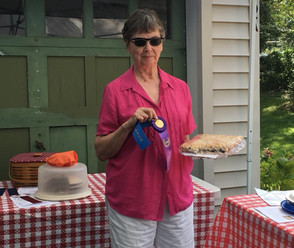 Betty Timer and her blueberry buckle