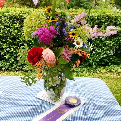 Grand Champion floral arrangement