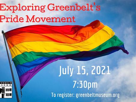 Museum Program Explores Greenbelt's Pride Movement