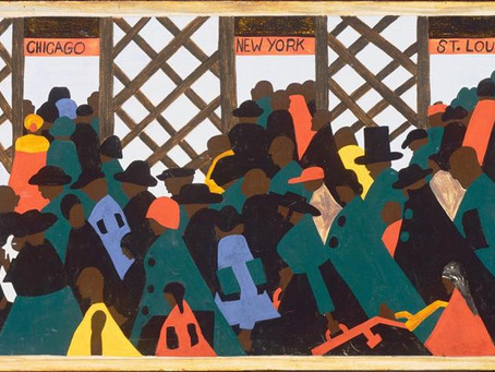 Black History Month #11 - Jacob Lawrence and the WPA