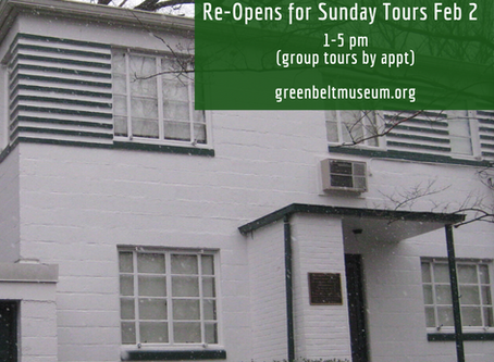 The Historic House is Open Again!