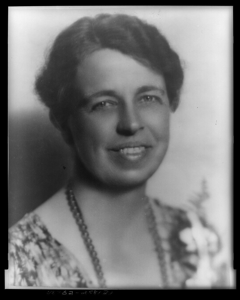 First Lady Eleanor Roosevelt. Photo: Library of Congress.