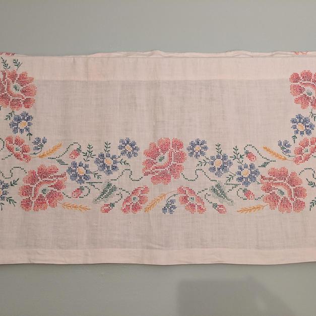 Cross Stitch Tablecloth
