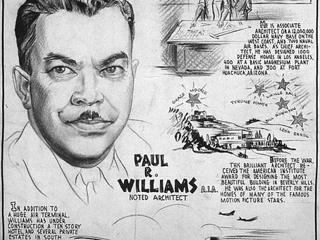 Black History Month #6 - Architect Paul R. Williams