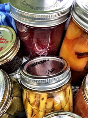 Retro Town Fair: canning