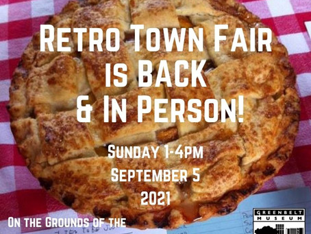 Retro Town Fair is Back and In Person!