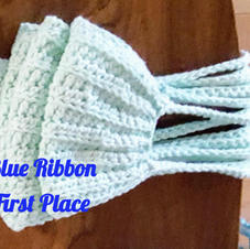 Crocheted Lined Mask