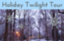Holiday Twilight Tour  graphic for FB ev