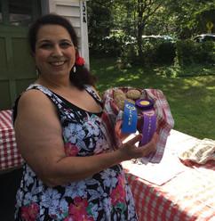 Lori Dominick and her award-winning cookies