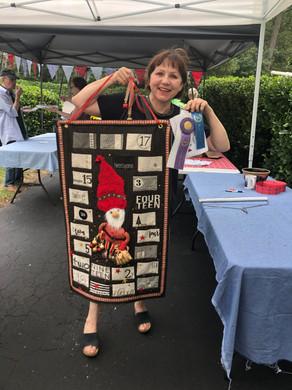 Grand Champion Evelyn Crellin