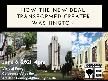How the New Deal Transformed Greater Washington