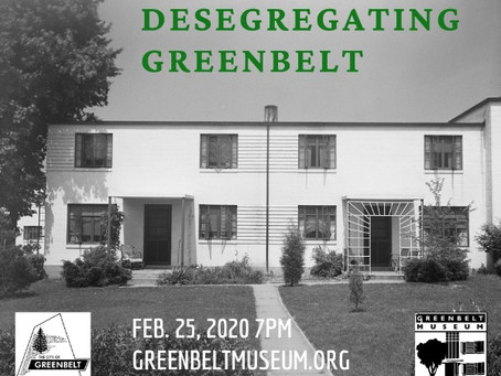 Black History Month #12 - Desegregating Greenbelt