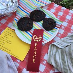Chocolate chili chunk cookies