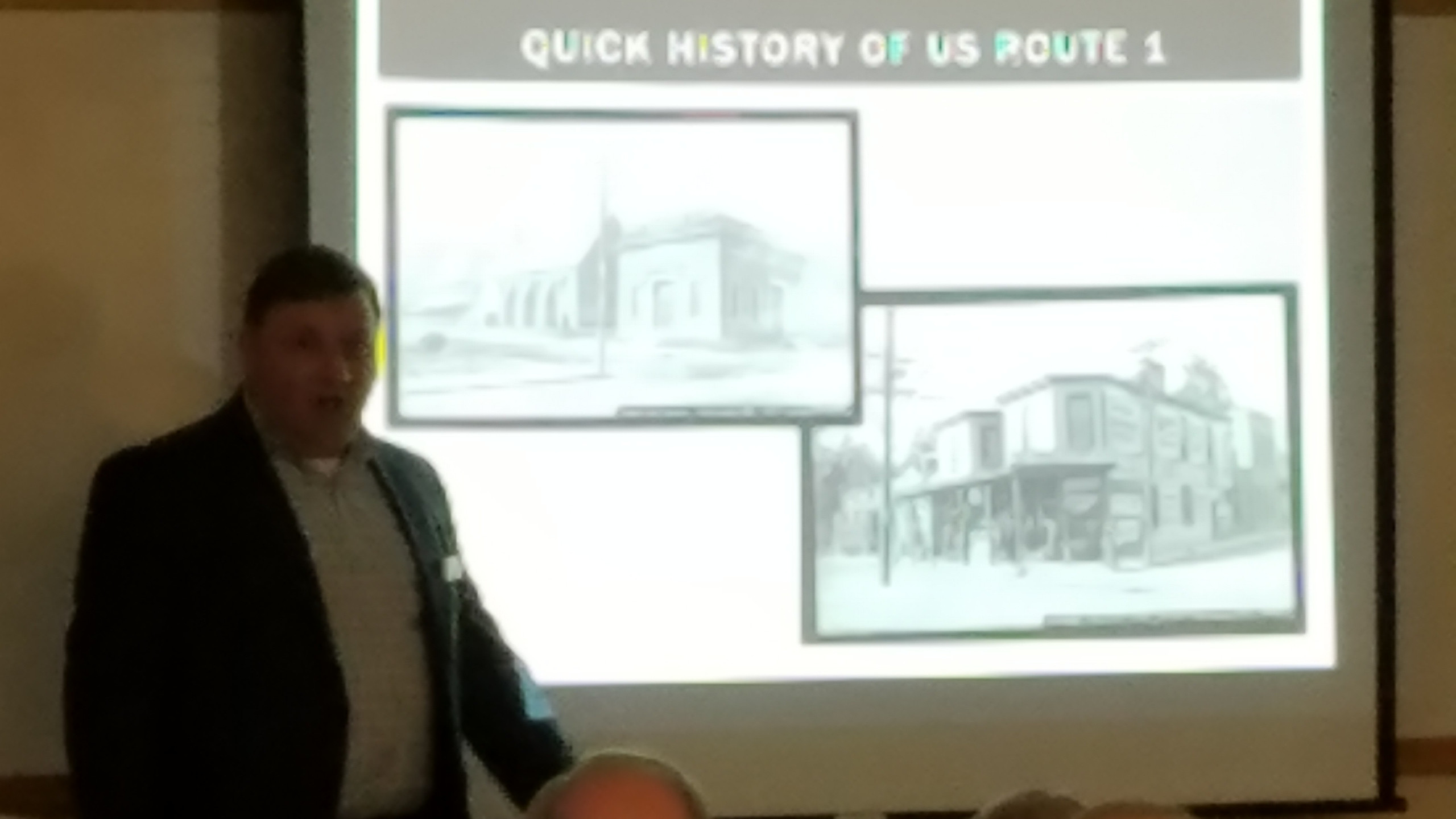Marcavitch discusses Route 1