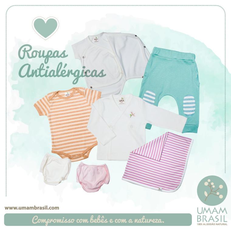 roupas antialérgicas