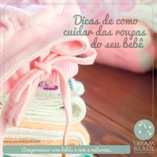 Dicas para cuidar da roupa do bebê