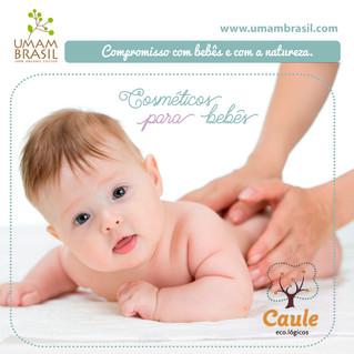 Cosméticos para o Bebê