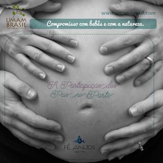 A participação dos pais no parto