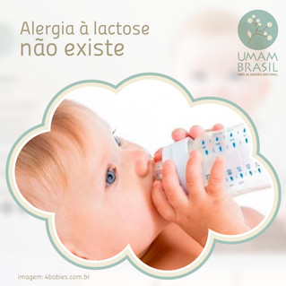 Alergia à lactose não existe