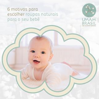 6 motivos para escolher roupas naturais para o seu bebê