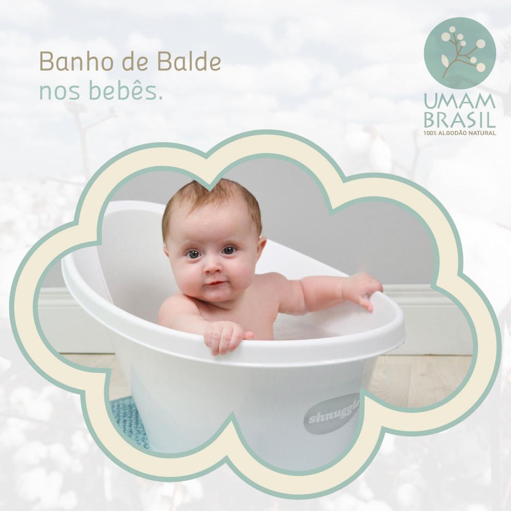 banho de balde; banheira bebês; banho bebês