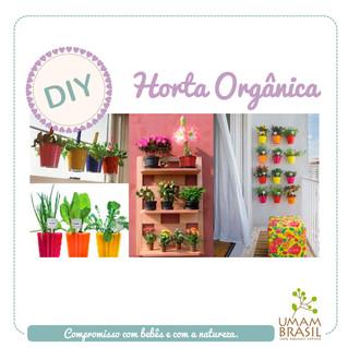 DIY: Horta orgânica