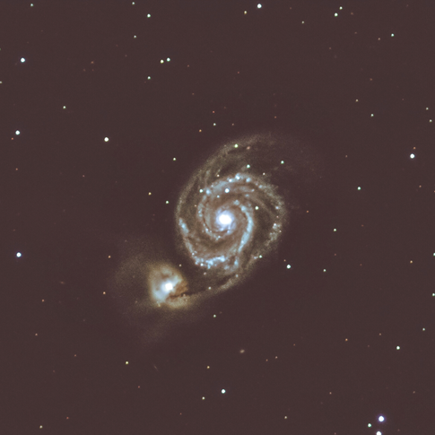 Whirlpool Galaxy M51 / NGC5194