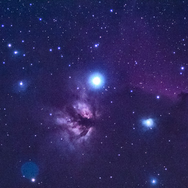 Flame Nebula NGC2024 & Horsehead Nebula Barnard 33