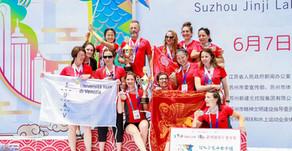 Altra vittoria del team femminile di Ca' Foscari alla dragon boat race di Suzhou