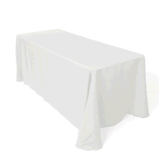 rectangular table linen