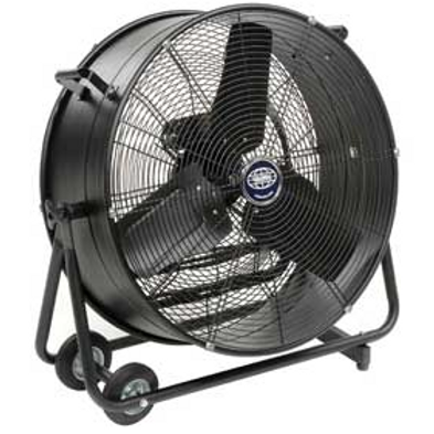 black ground fan
