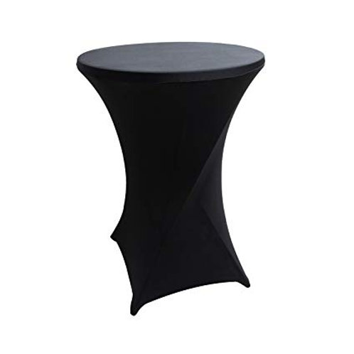 Black/White Cocktail Table Cover