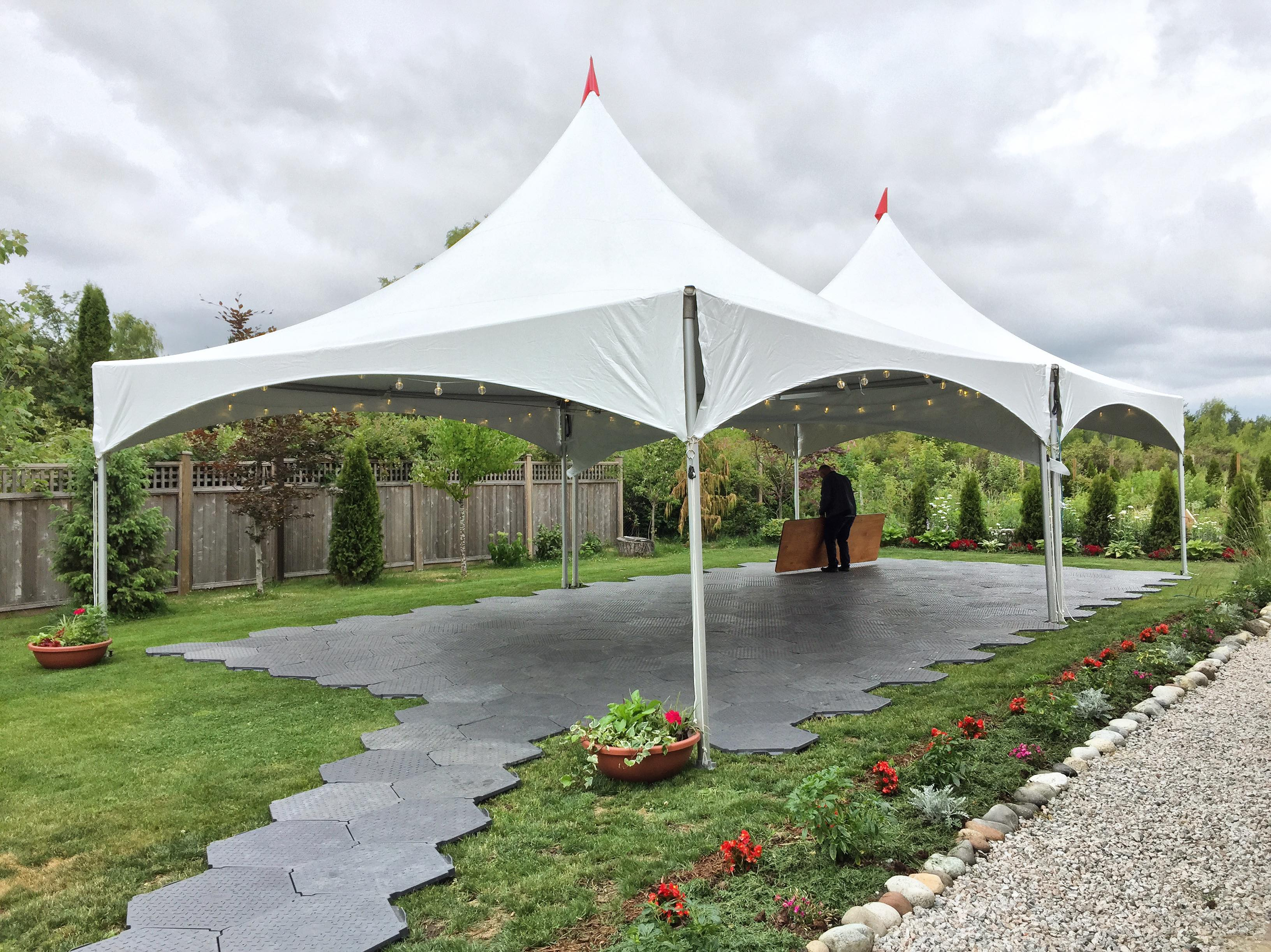Outdoor Tent Birthday