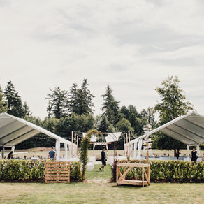 Tenting: What To Expect For Your Wedding Day!