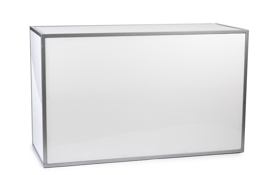 white plexi bar