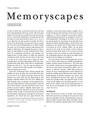 Memoryscapes