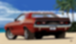 Chris Carlson 72 Challenger Dodge