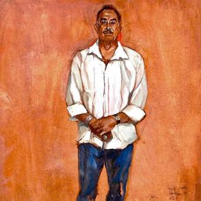 """Ector Castillo, """"El gallo que es gallo canta en cualquier gallinero"""" (The good rooster sings in whichever coop he finds himself in)"""