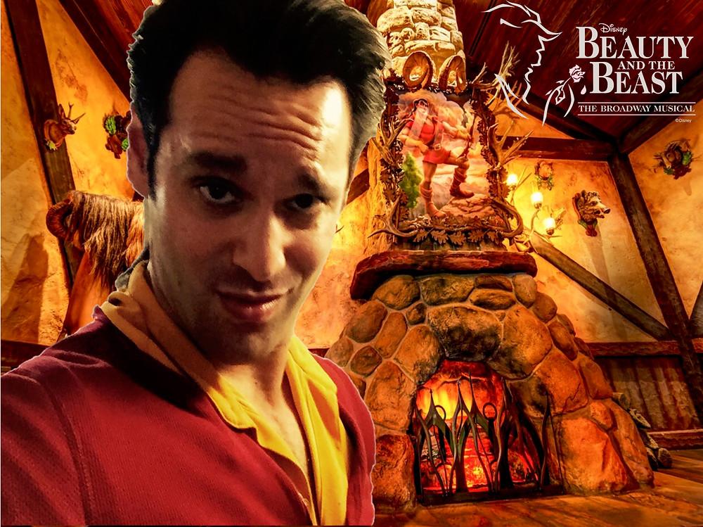 Starring Jeffrey Ricca as Gaston