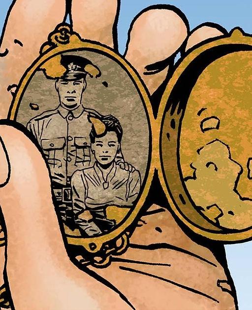 Robbie Morrison, Traces de la Grande Guerre