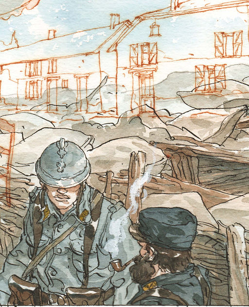 Maël, Traces de la Grande Guerre