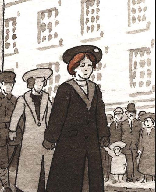 Mary Talbot, Traces de la Grande Guerre