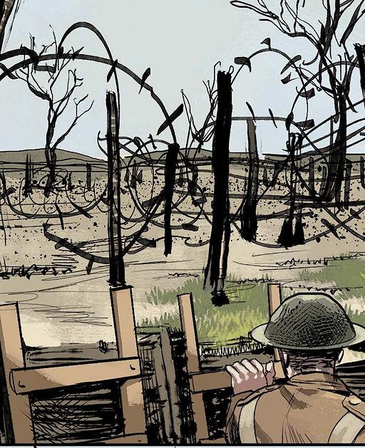 Scie Tronc, Traces de la Grande Guerre